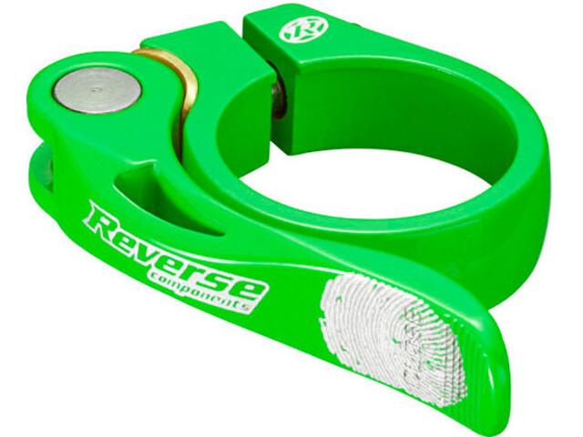 Reverse Long Life Collier de selle 34,9mm, neon green